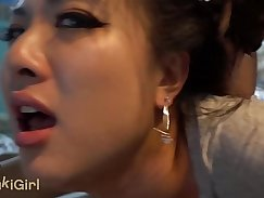 China wife gets cum injection