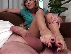 Big foot play - close view of toes