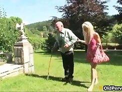 Beautiful Boi & Mandi of UK HotCock enjoying on Grandpa Sex Chat