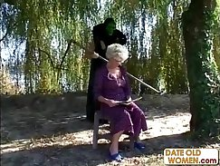British granny wants a lesson right now