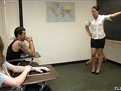 ashley has to get some classroom punishment