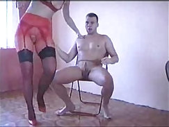 Cocky bimbos with disrobes and pantyhose are totally into pissing