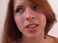 Anal stick inside fucking with squirting young hottie