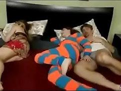 blackman sleeps with grandma mom girl