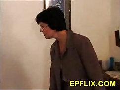 Beauteous young brunett - anal action