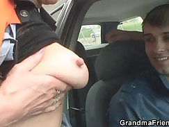 Cock Heroilation For Hot MILF Granny Treated As A Slut