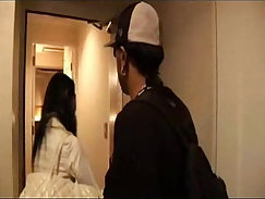 Curvaceous Japanese mature ebony fucks a long dong in missionary