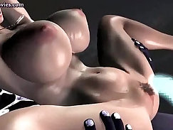 Big-breasted sluts in spa is penetrated in the pool