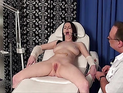 Beautiful extreme doggy style sex and bdsm by the doctor