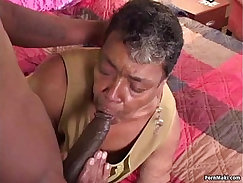 American Grandma Has A Black Cock