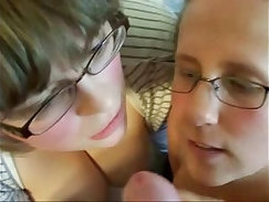 Blondie gets facefucked after facial