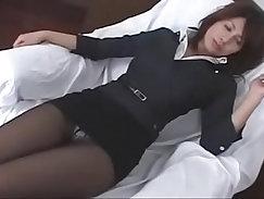Amazing Japanese whore Hatsuki Takei in exotic pantyhose