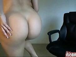 Busty Mature Brunette Masturbating
