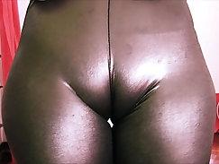 Big Tit Teen Rubbing Her Butt