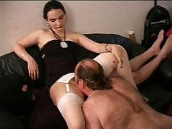 Pornstars make mistress play with their super-hot dolls