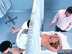 Sex Adventures On Tape Between Doctor And Patient (Cherie Deville) video-14