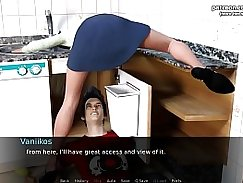 Mom likes my ass, MILF MILFf toys her pussy late into the night