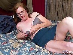 Dildo undressing hairy porn mature MILF