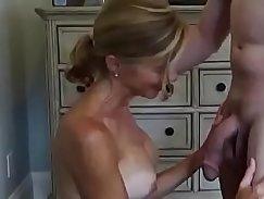Cuckold wife takes big facial
