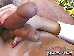Shemale Cum Double is Here