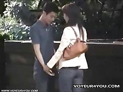 Fist couple fucking in public only?