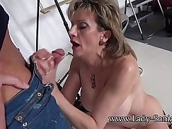 Mature milf fucked and facialized