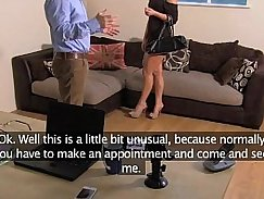 Casting European Lady Needs a Hard Anal Sex