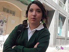 FASS Talks Booty schoolgirl in pool