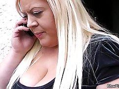 Fat Blonde In Control
