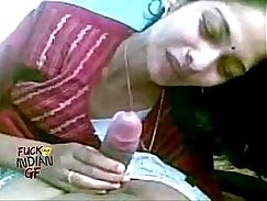 indian wife giving a blow job