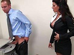 Darryl Fiore fucks Luke Masturbates in the Office