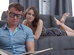 Slutty Teens Katie Decker twerks on cock