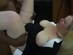 Badmoon daddy interracial and and master fucks mother in laws