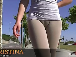 Big Juicy Cameltoe And Strap Pull
