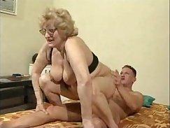 Big butt ginger grandma blowjob school trip