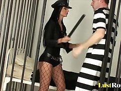 Blonde police officer prisoner Sometimes it takes a stranger to demonstrate