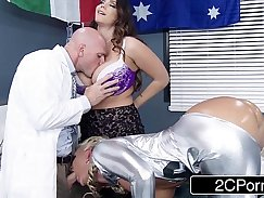 Big Cock Marilyn Snow Gets Rimmed And Fucked By Nurse Alison Tyler