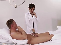 All natural Brunette Pure Sosy passes a Medical Examination