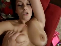 Amateur playmates son group and small guy redhead movieture and pulled