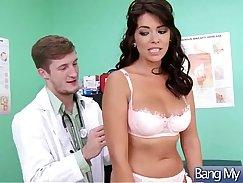 African slut cumsprayed by doctor