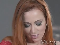 Big tits redhead Mommy Tanya Gets A Creampie From David