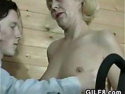 Twink Whore Tease Fucking Grandma