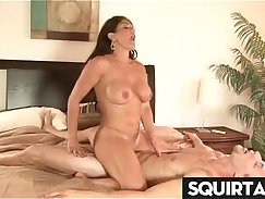 Boning Orgasm and Squirting on the Cravartbuttod