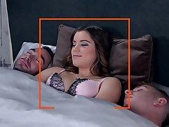 Curvy slut Erica Collins has anal creampie for three men